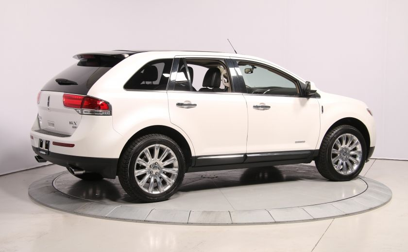 2011 Lincoln MKX AWD AUTO A/C CUIR TOIT MAGS BLUETOOTH #6