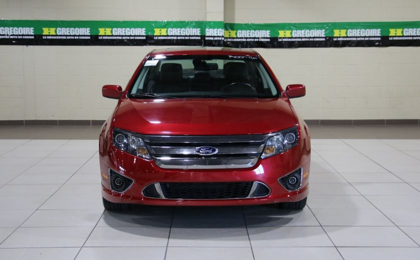 2012 Ford Fusion SPORT AWD AUTO A/C CUIR TOIT MAGS BLUETOOTH #1
