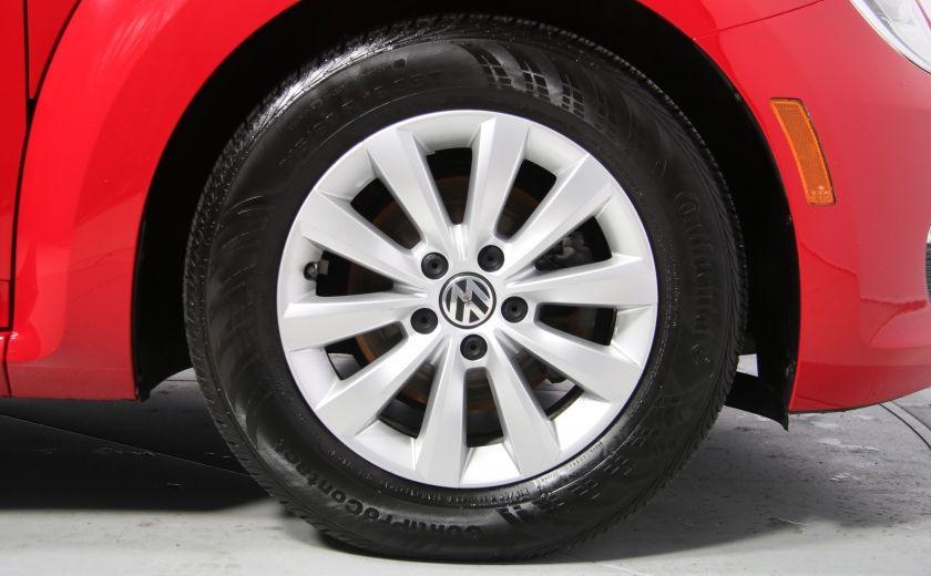 2012 Volkswagen BEETLE TRENDLINE A/C GR ELECT MAGS #27