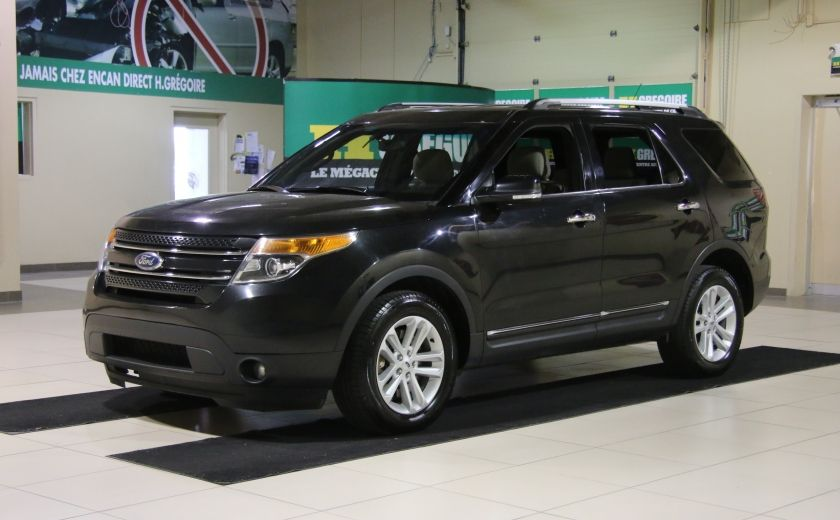 2014 Ford Explorer XLT 4WD 7 PASSAGERS #2