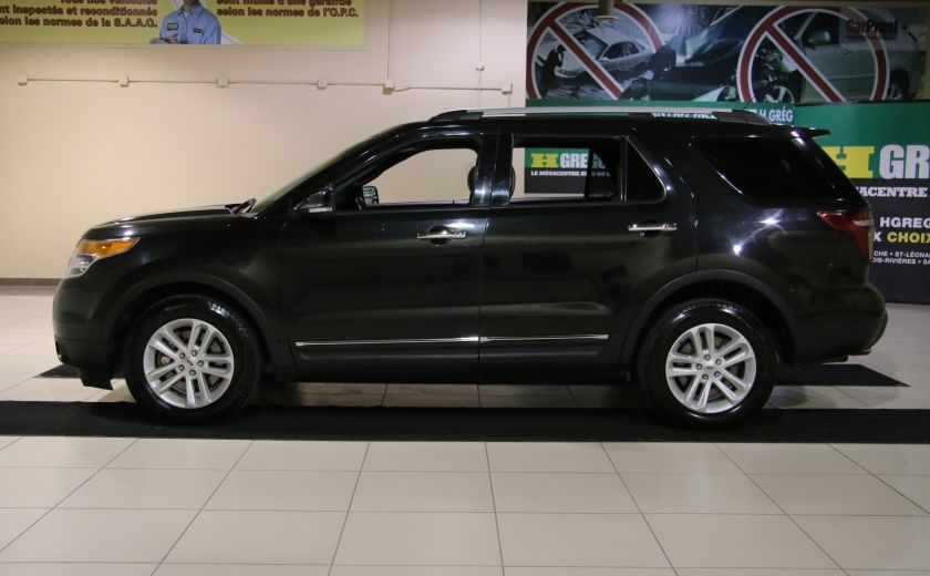 2014 Ford Explorer XLT 4WD 7 PASSAGERS #3