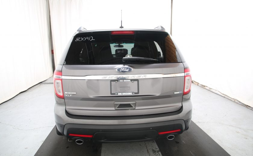 2013 Ford Explorer XLT 4WD 7 PASSAGERS #4