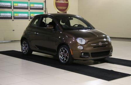 2012 Fiat 500 Sport A/C MAGS  BLUETHOOT in Drummondville