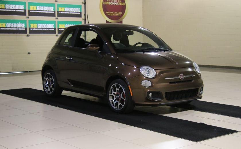 2012 Fiat 500 Sport A/C MAGS  BLUETHOOT #0
