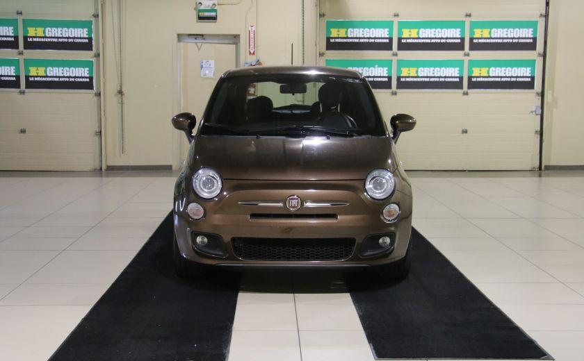 2012 Fiat 500 Sport A/C MAGS  BLUETHOOT #1