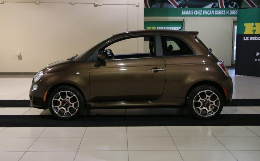 2012 Fiat 500 Sport A/C MAGS  BLUETHOOT #3