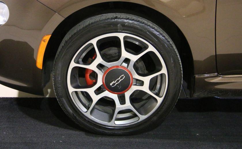 2012 Fiat 500 Sport A/C MAGS  BLUETHOOT #28