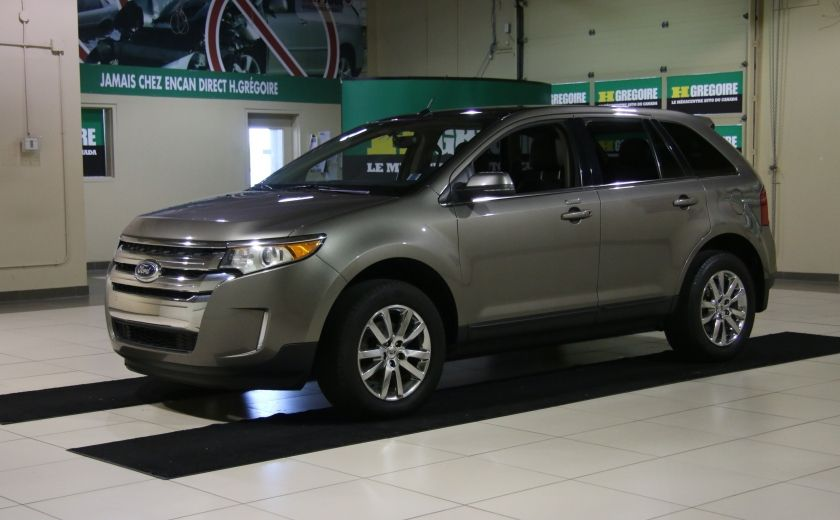2013 Ford EDGE Limited AWD AUTO A/C CUIR TOIT MAGS CHROME #2