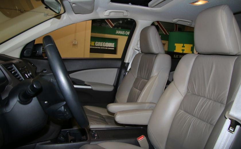2014 Honda CRV EX-L AWD AUTO A/C CUIR TOIT MAGS  CAMERA RECUL #9