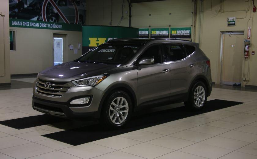 2014 Hyundai Santa Fe LIMITED AWD 2.0 TURBO CUIR TOIT PANO NAV #2