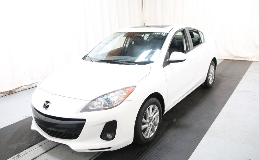 2013 Mazda 3 GS-SKY AUTO A/C CUIR TOIT MAGS #2