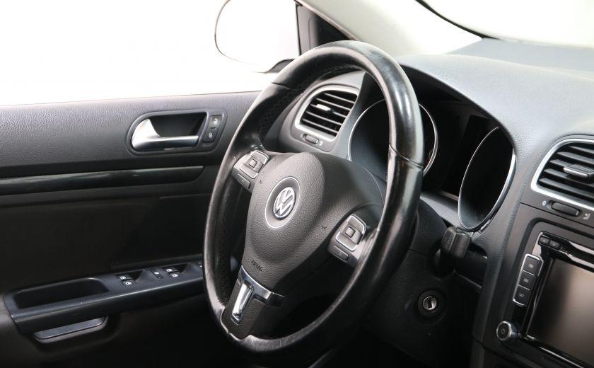 2011 Volkswagen Golf Comfortline AUT TOIT PANO #19