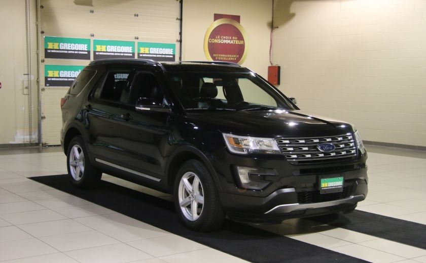 2016 Ford Explorer XLT 4WD CUIR TOIT MAGS 7 PASSAGERS #0