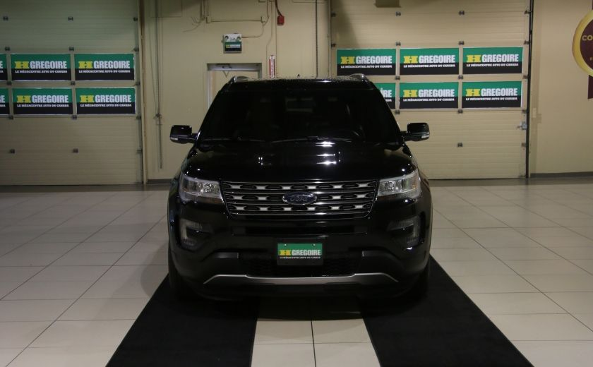 2016 Ford Explorer XLT 4WD CUIR TOIT MAGS 7 PASSAGERS #1