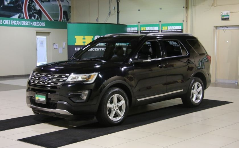 2016 Ford Explorer XLT 4WD CUIR TOIT MAGS 7 PASSAGERS #2