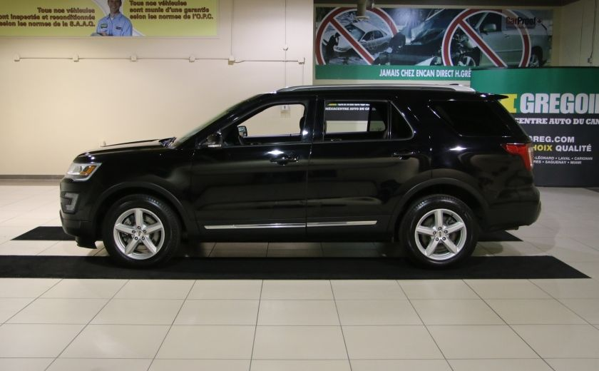 2016 Ford Explorer XLT 4WD CUIR TOIT MAGS 7 PASSAGERS #3