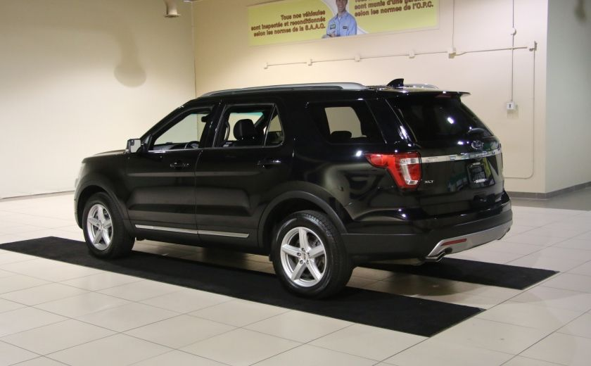 2016 Ford Explorer XLT 4WD CUIR TOIT MAGS 7 PASSAGERS #4