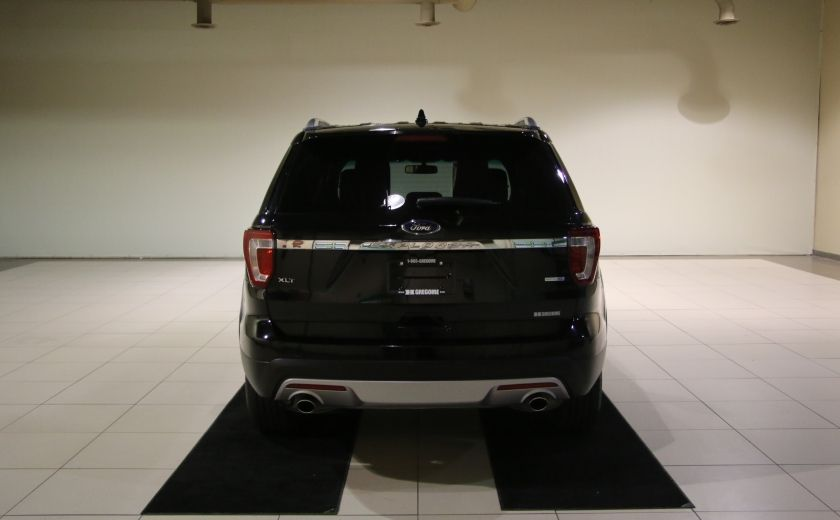 2016 Ford Explorer XLT 4WD CUIR TOIT MAGS 7 PASSAGERS #5