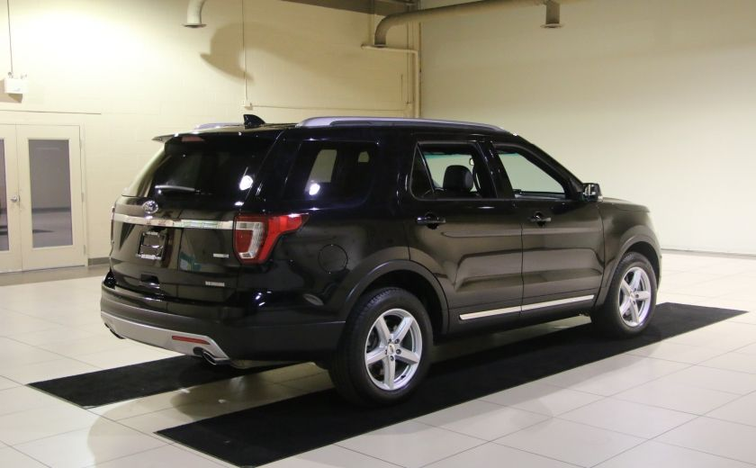 2016 Ford Explorer XLT 4WD CUIR TOIT MAGS 7 PASSAGERS #6
