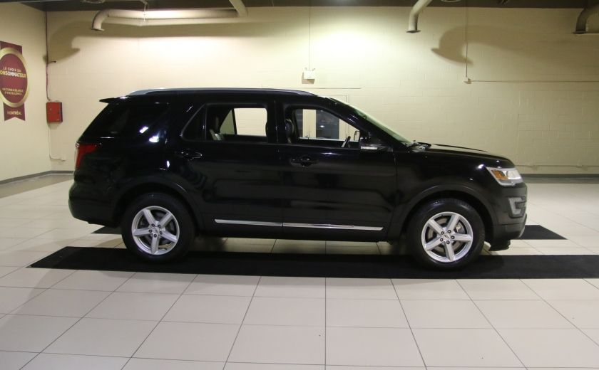 2016 Ford Explorer XLT 4WD CUIR TOIT MAGS 7 PASSAGERS #7