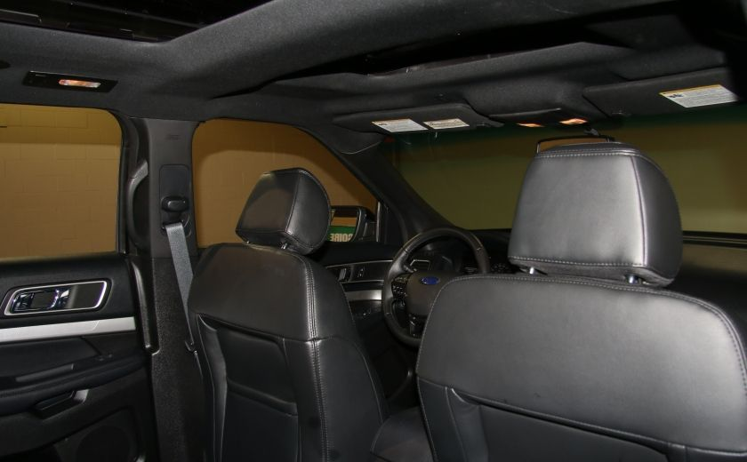 2016 Ford Explorer XLT 4WD CUIR TOIT MAGS 7 PASSAGERS #26