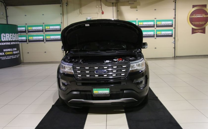 2016 Ford Explorer XLT 4WD CUIR TOIT MAGS 7 PASSAGERS #33