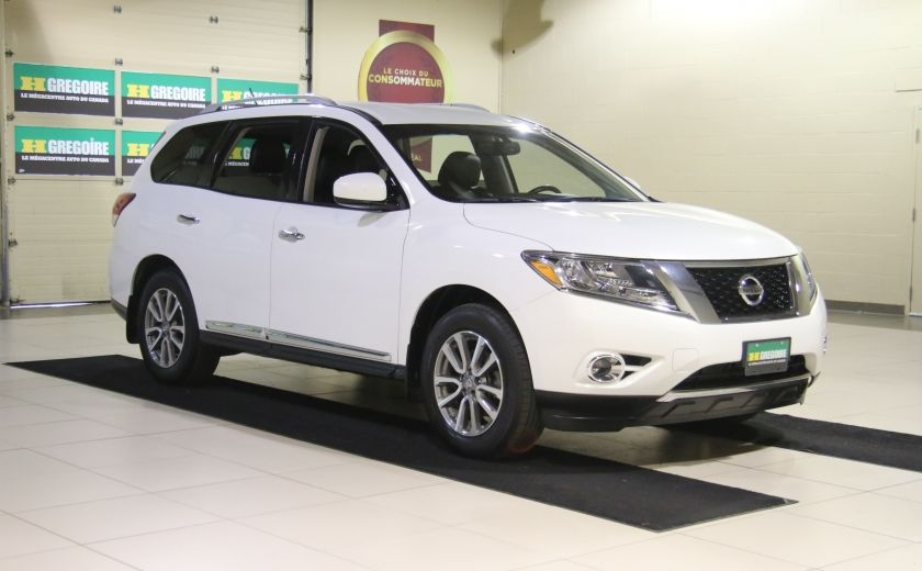 2014 Nissan Pathfinder SL 4WD A/C CUIR MAGS BLUETOOTH 7 PASSAGERS #0