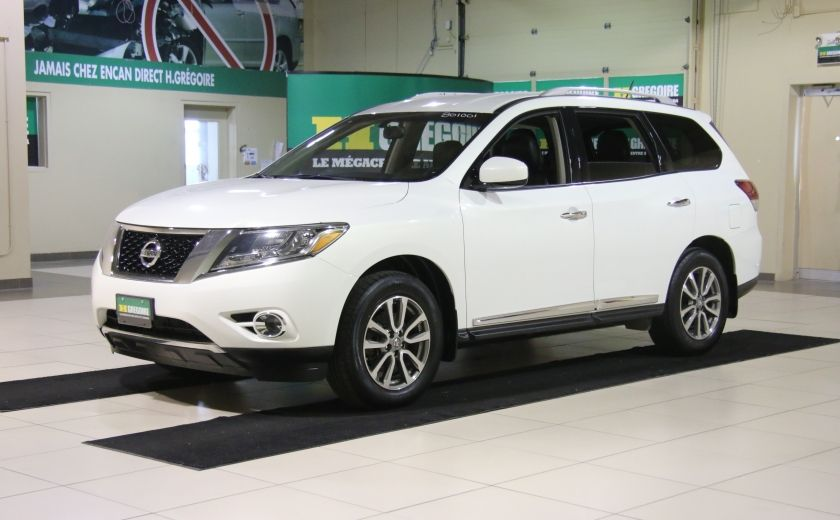 2014 Nissan Pathfinder SL 4WD A/C CUIR MAGS BLUETOOTH 7 PASSAGERS #2