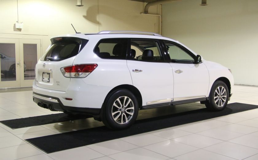 2014 Nissan Pathfinder SL 4WD A/C CUIR MAGS BLUETOOTH 7 PASSAGERS #4