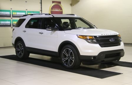 2013 Ford Explorer Sport 4WD CUIR MAGS 7PASSAGERS in Laval