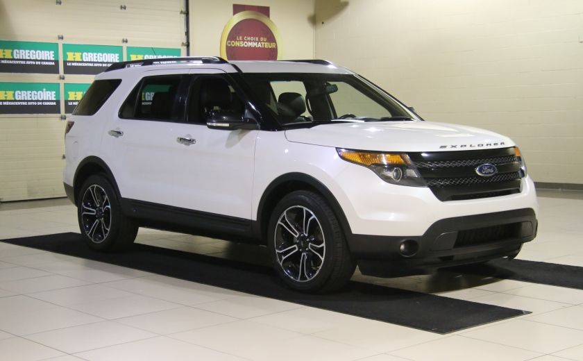 2013 Ford Explorer Sport 4WD CUIR MAGS 7PASSAGERS #0