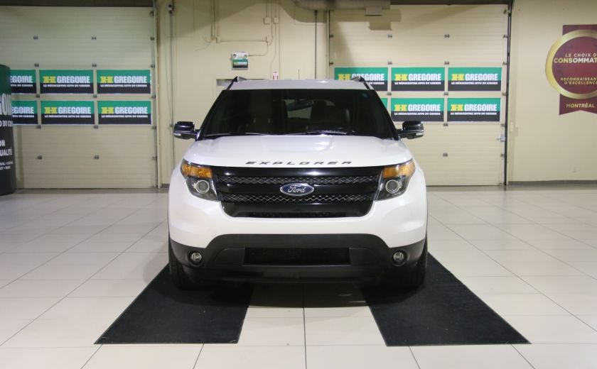 2013 Ford Explorer Sport 4WD CUIR MAGS 7PASSAGERS #1