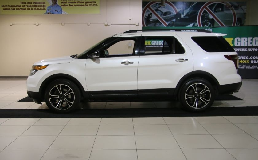 2013 Ford Explorer Sport 4WD CUIR MAGS 7PASSAGERS #3