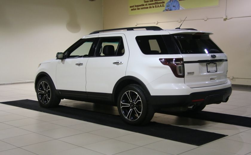 2013 Ford Explorer Sport 4WD CUIR MAGS 7PASSAGERS #4