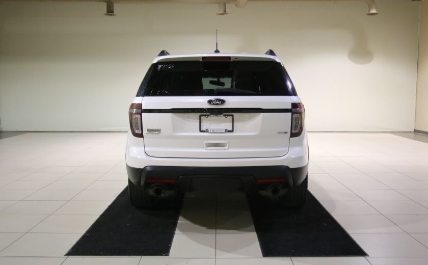 2013 Ford Explorer Sport 4WD CUIR MAGS 7PASSAGERS #5