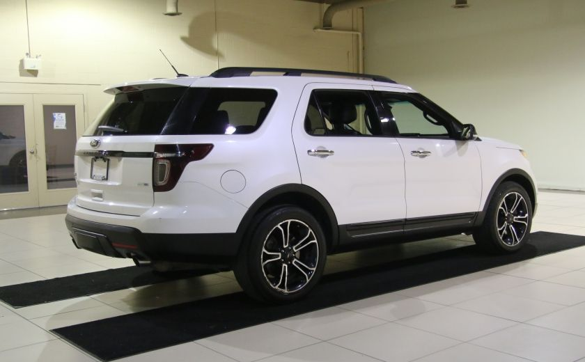 2013 Ford Explorer Sport 4WD CUIR MAGS 7PASSAGERS #6