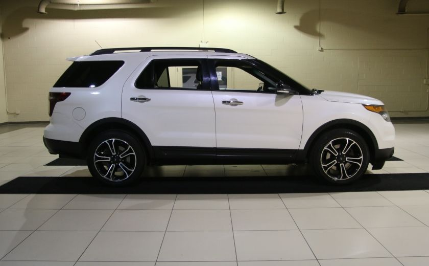 2013 Ford Explorer Sport 4WD CUIR MAGS 7PASSAGERS #7