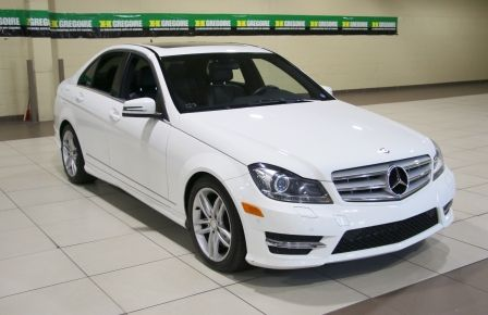 2013 Mercedes Benz C300 4MATIC AUTO A/C CUIR TOIT MAGS NAV in Blainville