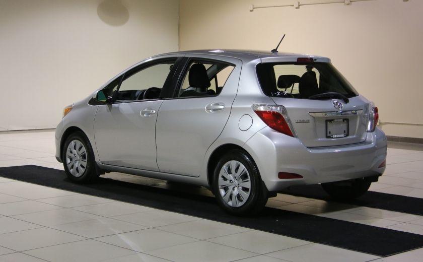2013 Toyota Yaris CE BAS KILOS #4
