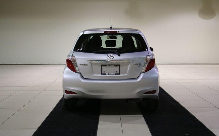 2013 Toyota Yaris CE BAS KILOS #5