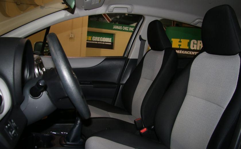 2013 Toyota Yaris CE BAS KILOS #9