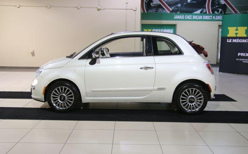 2013 Fiat 500 Lounge AUTOMATIQUE A/C MAGS BLUETHOOT CUIR #1