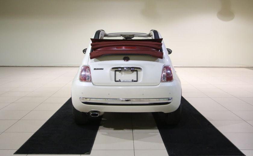 2013 Fiat 500 Lounge AUTOMATIQUE A/C MAGS BLUETHOOT CUIR #3