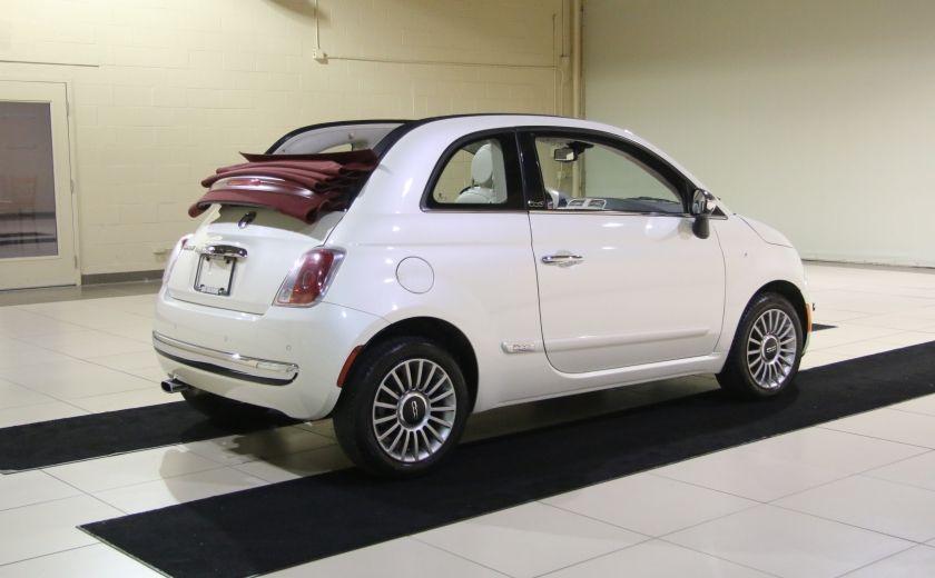 2013 Fiat 500 Lounge AUTOMATIQUE A/C MAGS BLUETHOOT CUIR #4