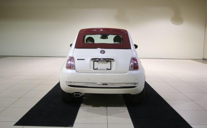 2013 Fiat 500 Lounge AUTOMATIQUE A/C MAGS BLUETHOOT CUIR #7