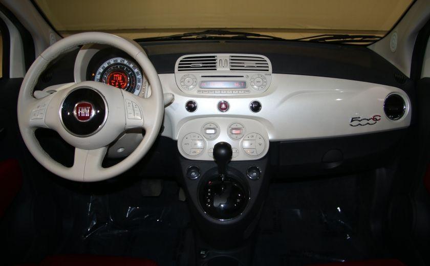 2013 Fiat 500 Lounge AUTOMATIQUE A/C MAGS BLUETHOOT CUIR #12