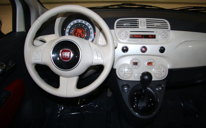 2013 Fiat 500 Lounge AUTOMATIQUE A/C MAGS BLUETHOOT CUIR #13