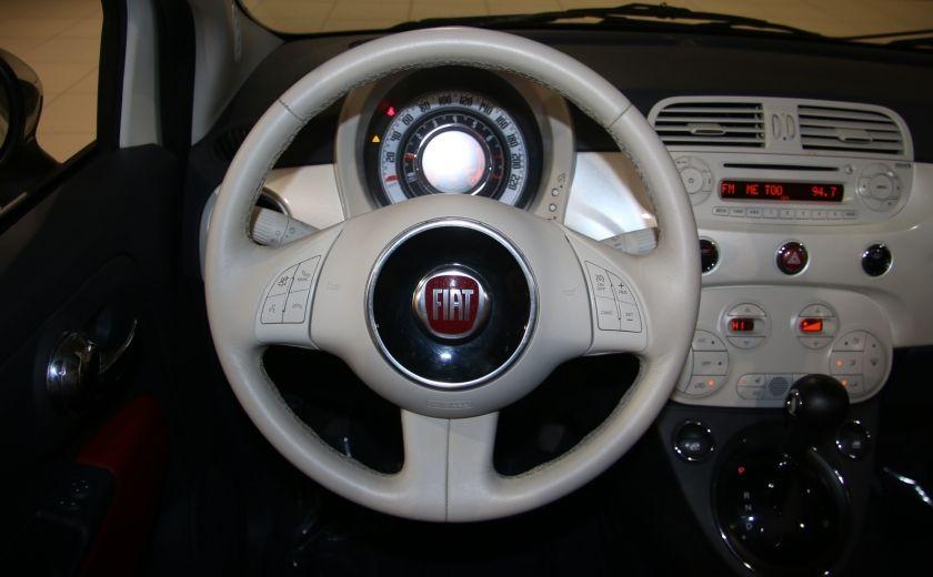 2013 Fiat 500 Lounge AUTOMATIQUE A/C MAGS BLUETHOOT CUIR #14