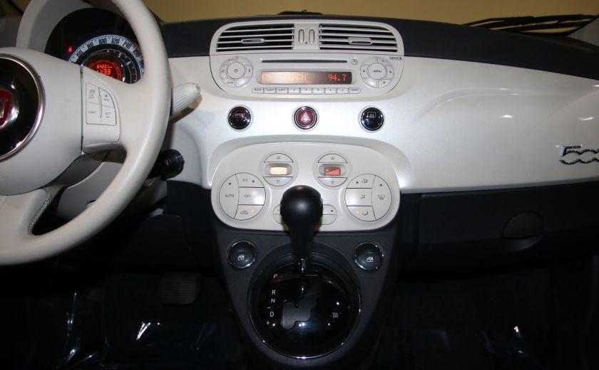 2013 Fiat 500 Lounge AUTOMATIQUE A/C MAGS BLUETHOOT CUIR #15