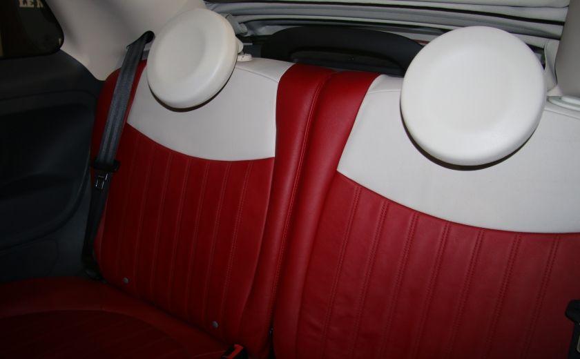 2013 Fiat 500 Lounge AUTOMATIQUE A/C MAGS BLUETHOOT CUIR #19